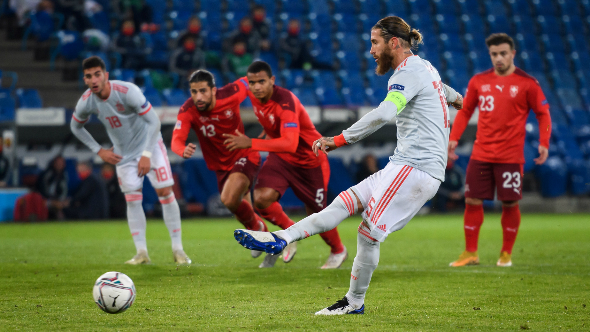 Spain Real Madrid captain Ramos becomes most capped European player ever
