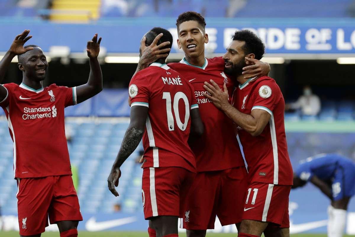 Chelsea 0 2 Liverpool Sadio Mane Scores Twice As Thiago Alcantara Concedes A Penalty On Reds Debut Goal Com