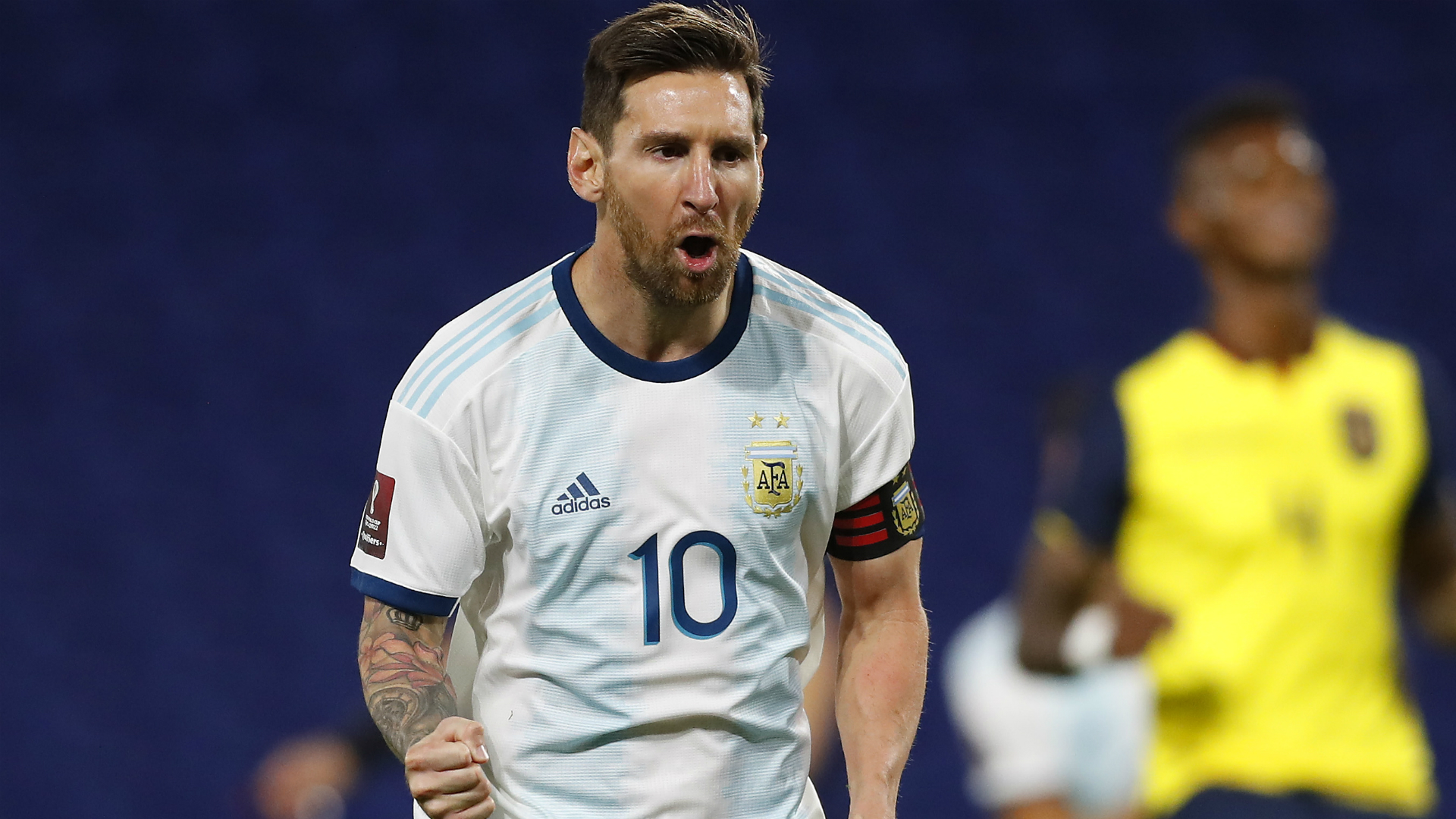 Argentina 1-0 Ecuador: Messi penalty kicks off World Cup qualifying campaign