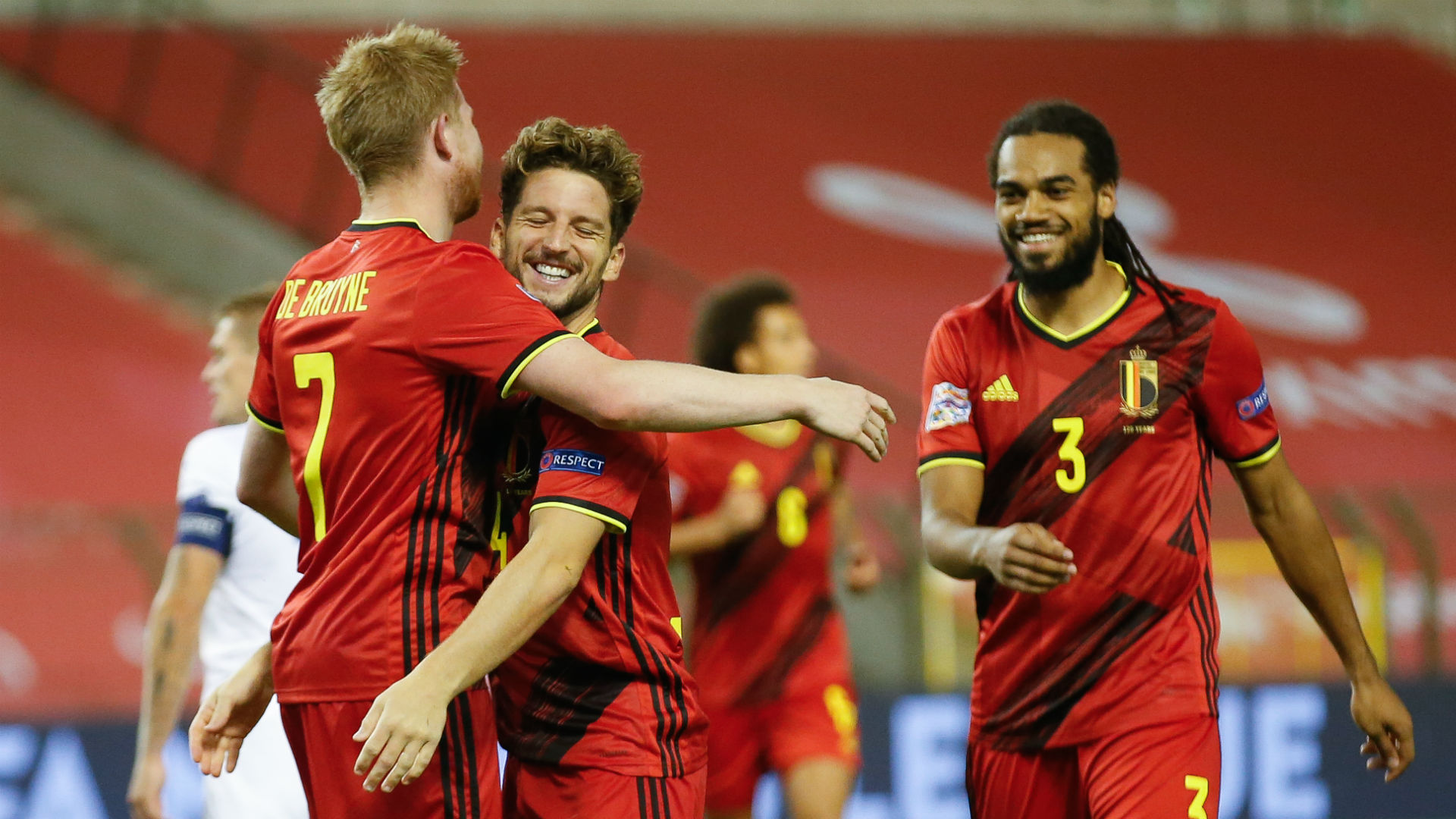 Belgium 5-1 Iceland: Red Devils top of group after rampant display