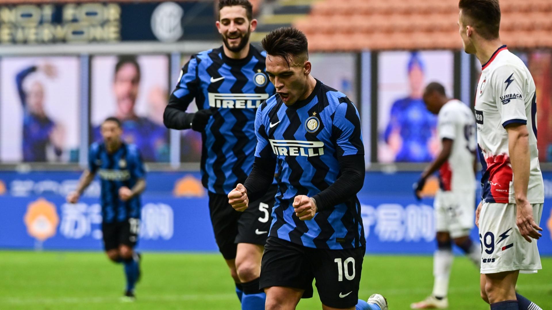 Inter 6-2 Crotone - Serie A report: Lautaro Martinez leads Nerazzurri to  fifth straight success | Goal.com