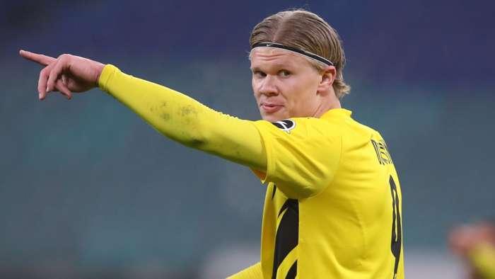 BVB striker Erling Haaland