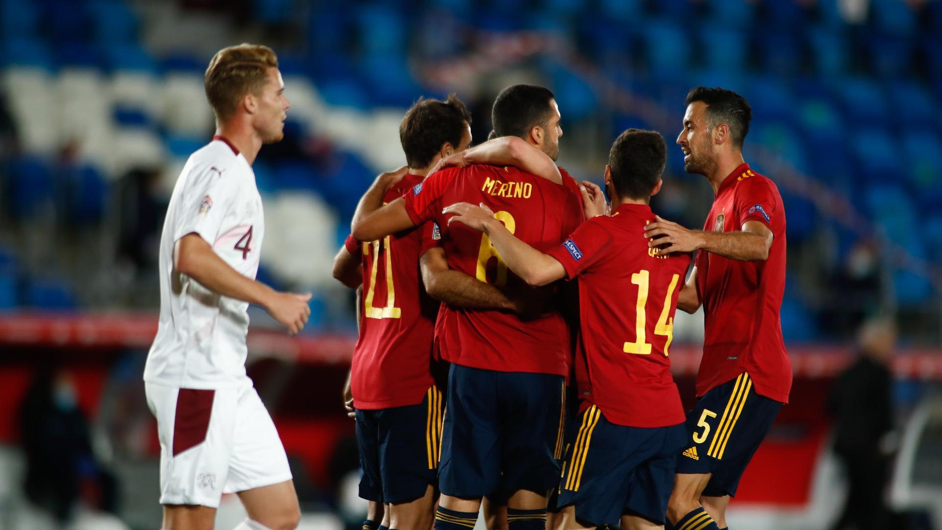 Spain 1-0 Switzerland: La Roja's unbeaten run continues as Oyarzabal proves decisive