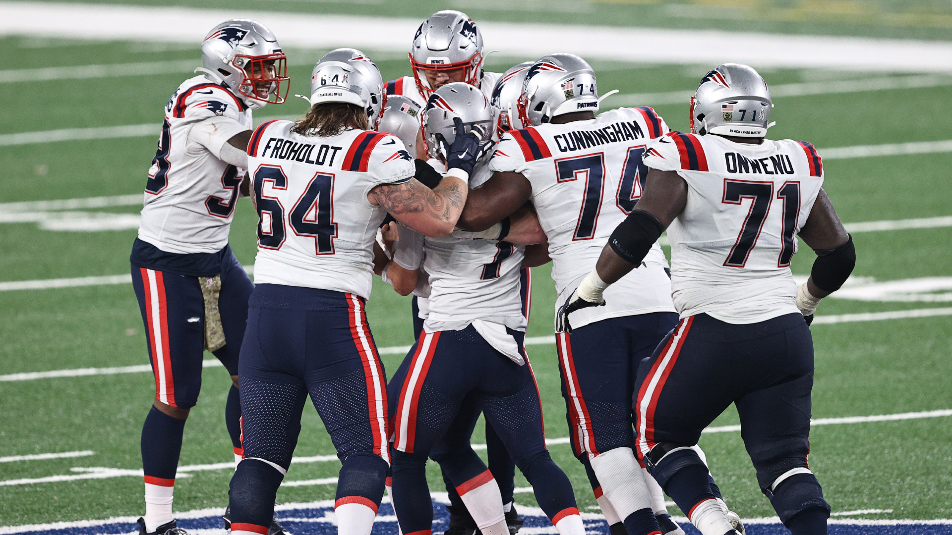 Cam Newton hoping Patriots' win over Jets kick-starts season