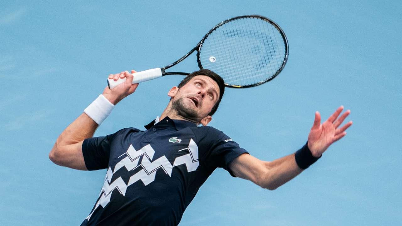 World number one Novak Djokovic