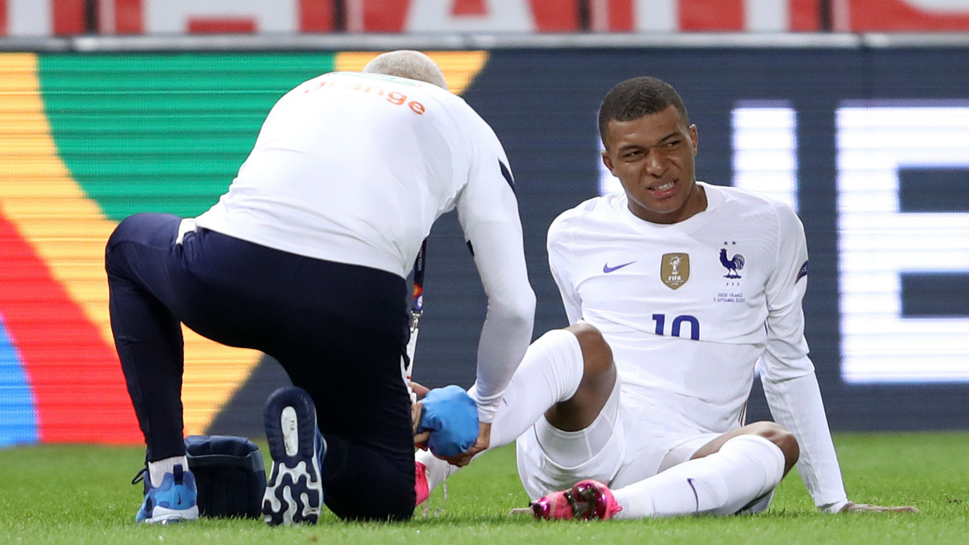 Mbappe admits ankle 'hurts a bit' after knock in France's win over Sweden