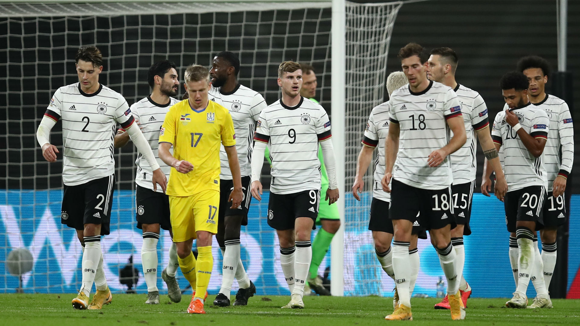 UEFA Nations League: Werner shines as Germany beats Ukraine