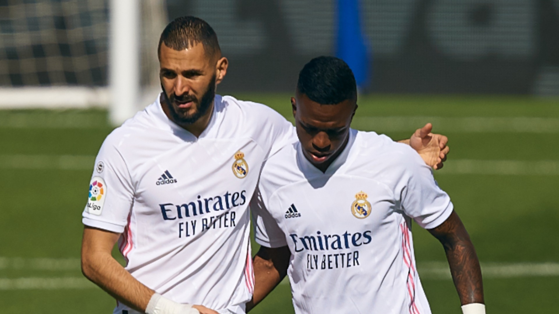 'Benzema is my idol, it's an honour to play with him' - Vinicius credits Madrid striker for aiding his development