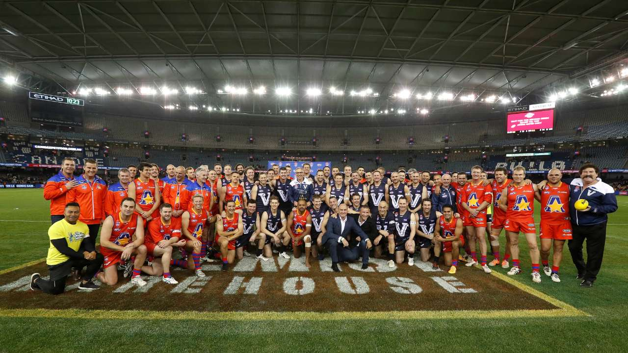 #2017 EJ Whitten Legends game teams
