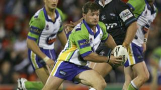 Simon Woolford Canberra Raiders