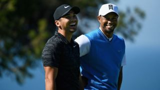 Jason Day and Tiger Woods
