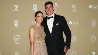 Matt Renshaw and Josie Harvey