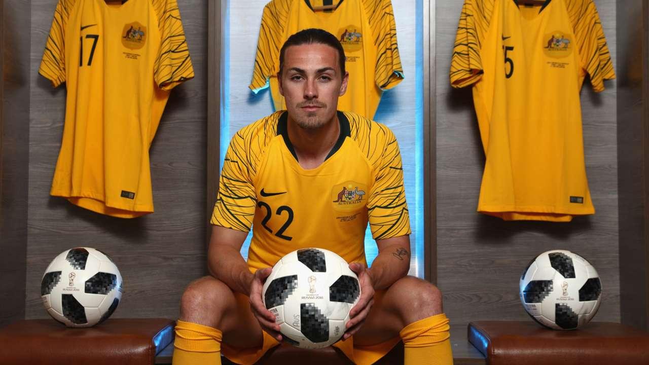 Jackson Irvine Socceroos