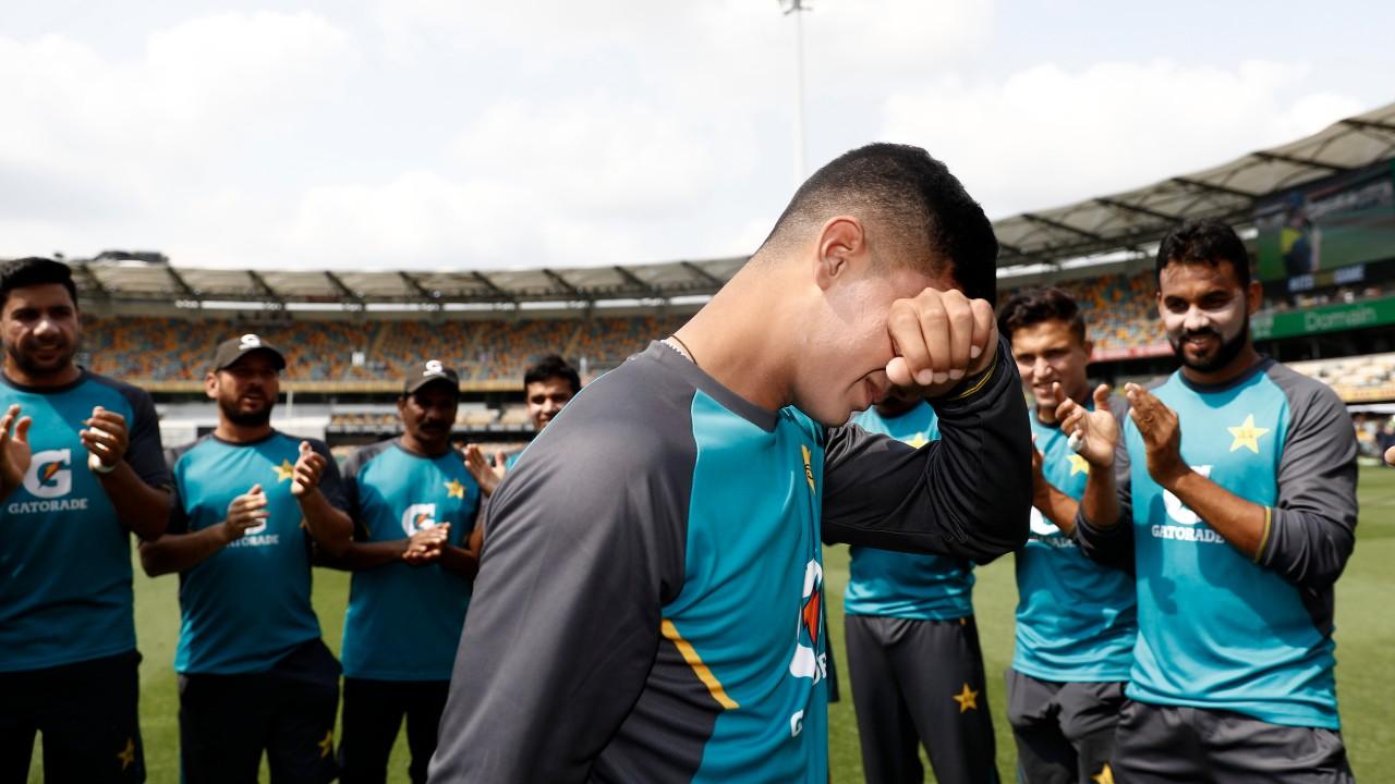Naseem Shah: 16-year-old debutant reduced to tears in emotional Test cap  presentation | Sporting News Australia
