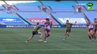 Moses Suli knock on