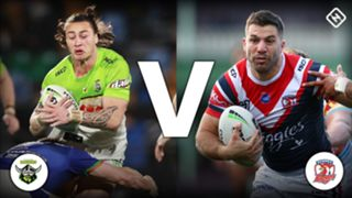 Canberra Raiders v Sydney Roosters
