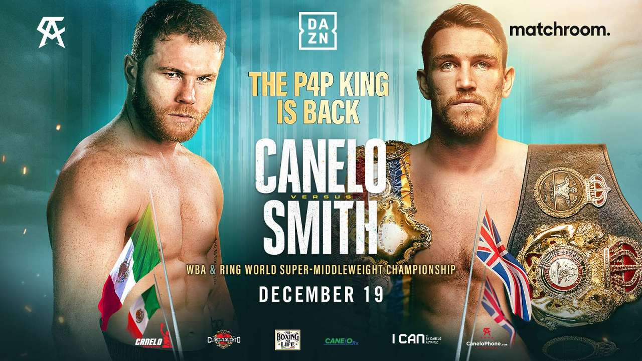 Canelo fight poster