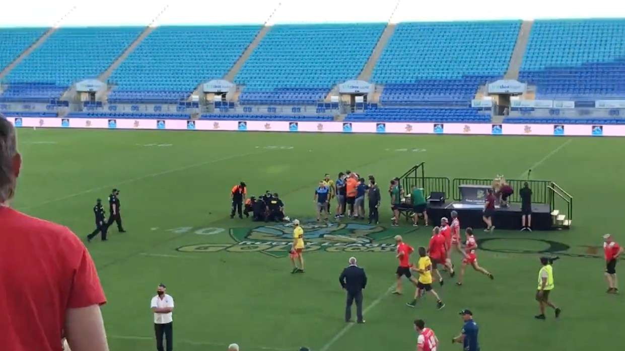 Man charged for punching referee after local grand final
