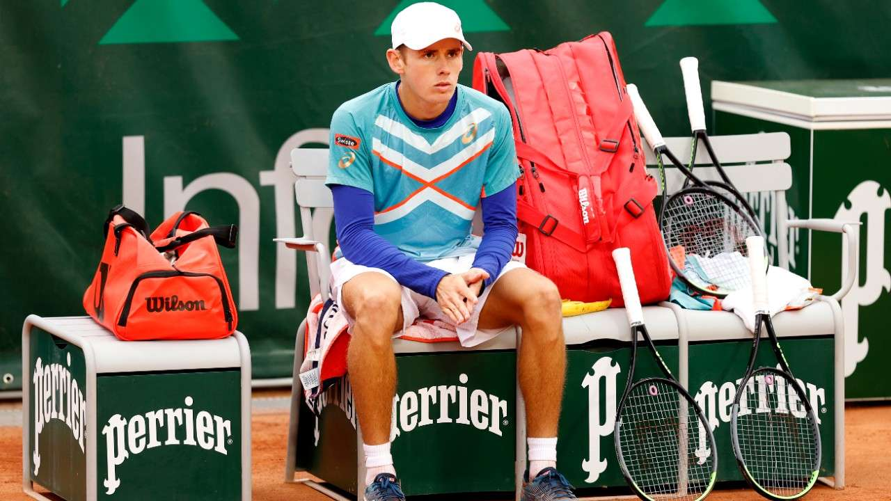 Alex De Minaur French Open