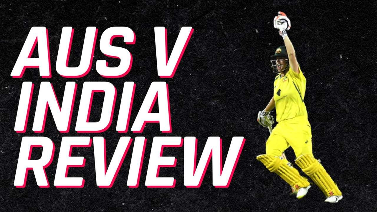 Cricket review Aus v India