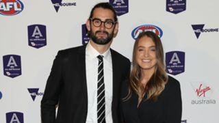 Brodie Grundy and Rachael Wertheim