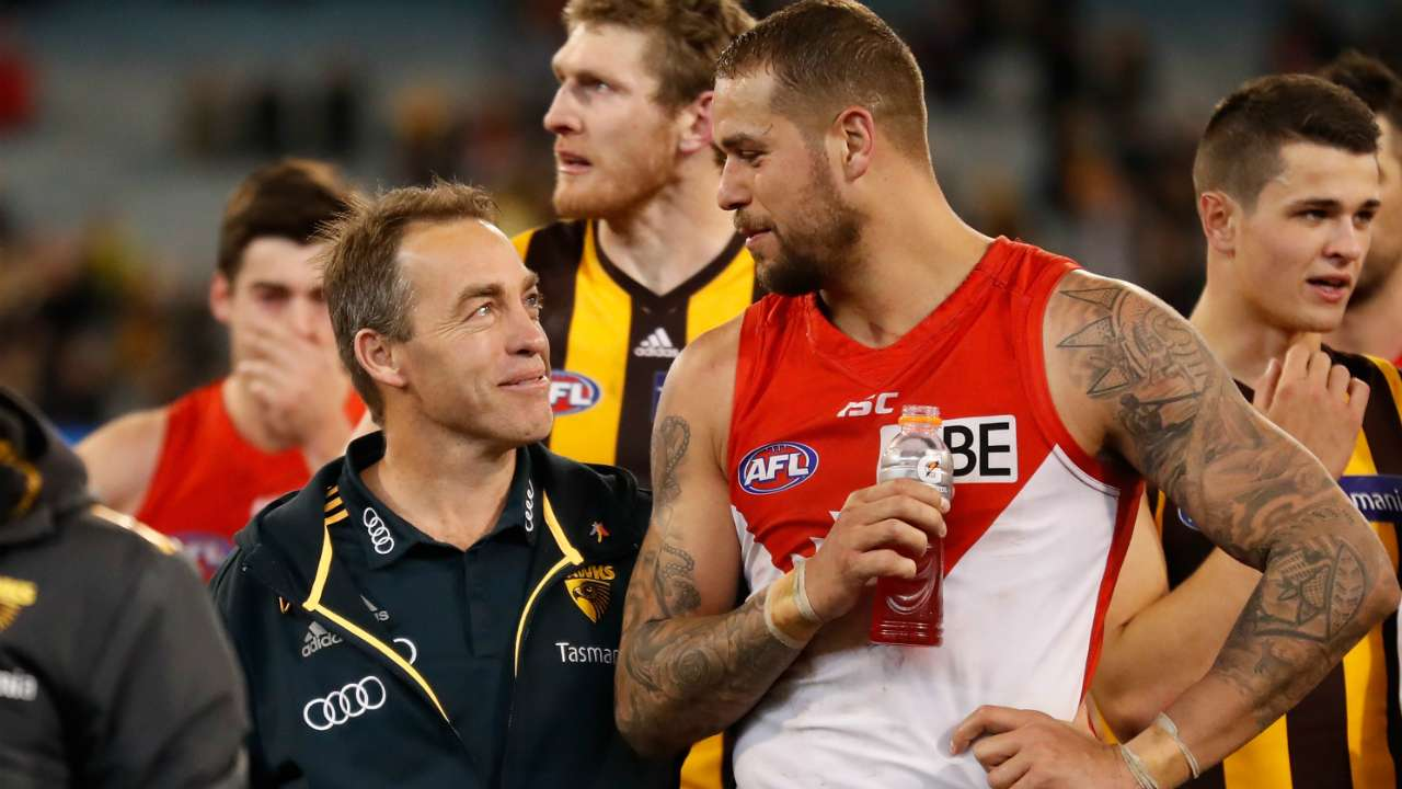 #Lance Franklin Alastair Clarkson