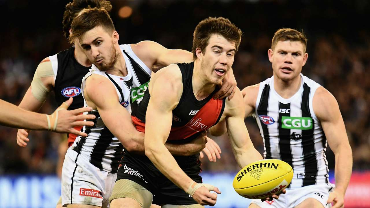 #Zach Merrett Essendon Collingwood