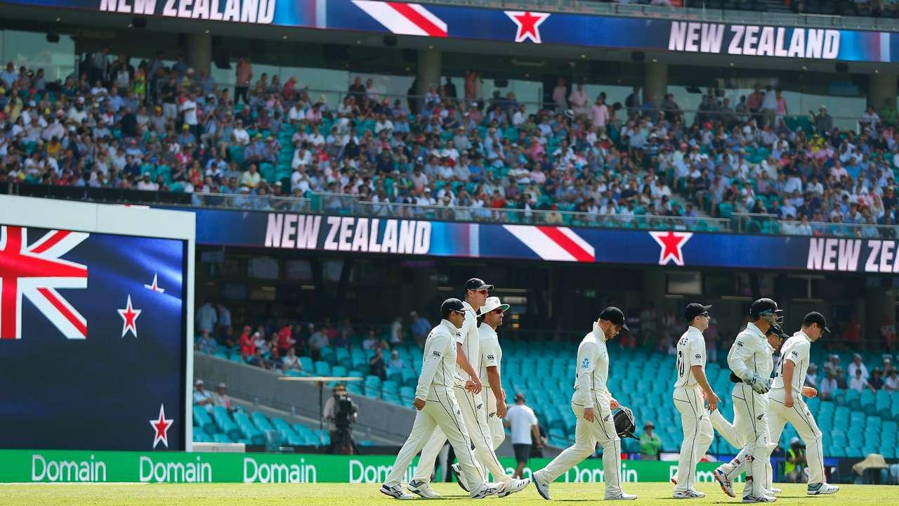 New Zealand Sydney Test