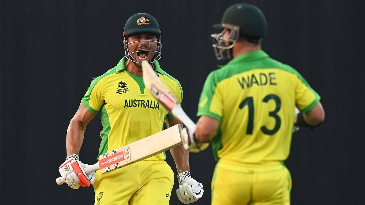 Marcus Stoinis and Matthew Wade