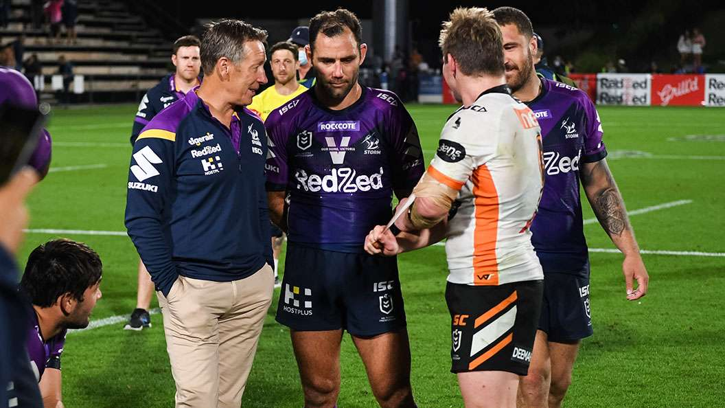 Cameron Smith and Harry Grant