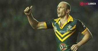 Darren Lockyer Australia rugby league lurker