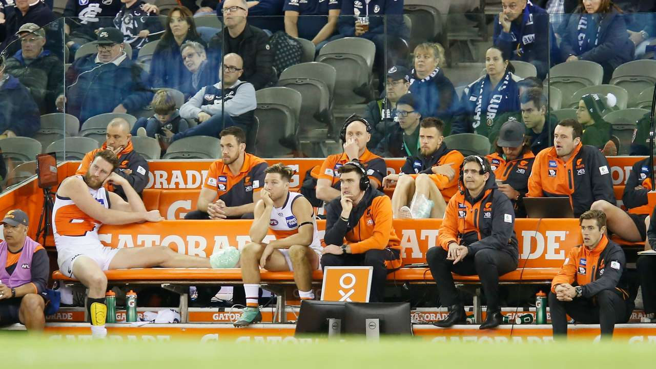 #gws giants injuries