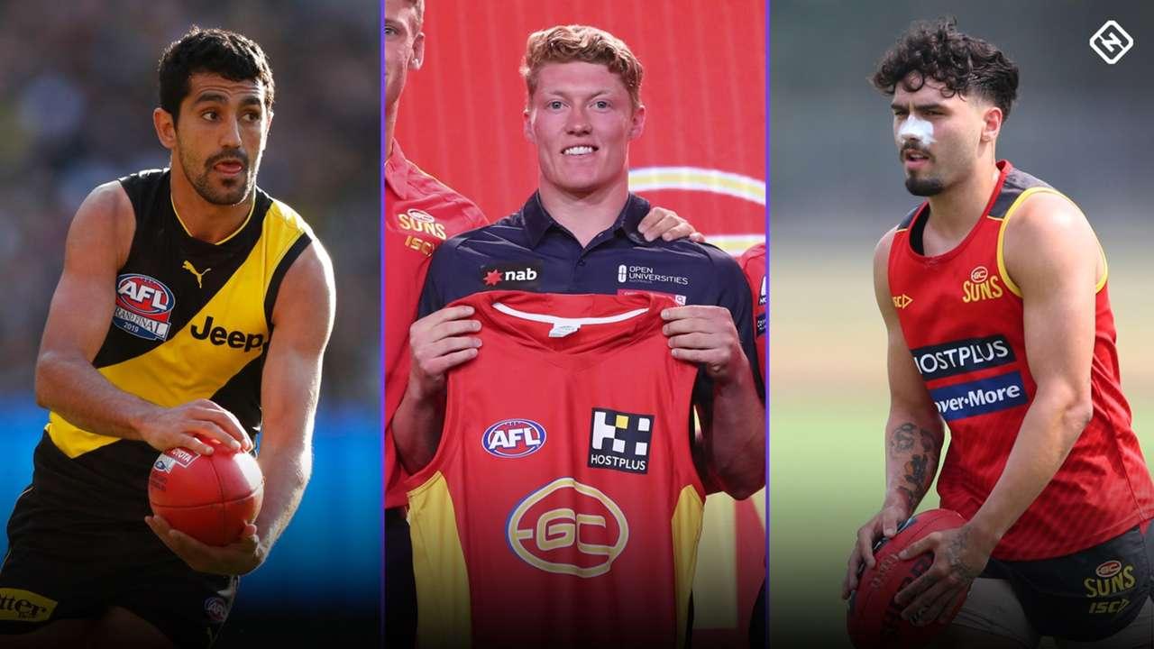 AFL Supercoach rookies 2020