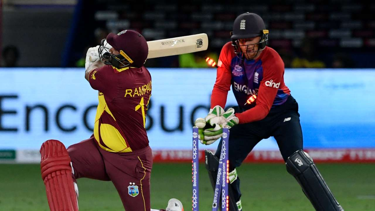 West Indies v England T20 World Cup