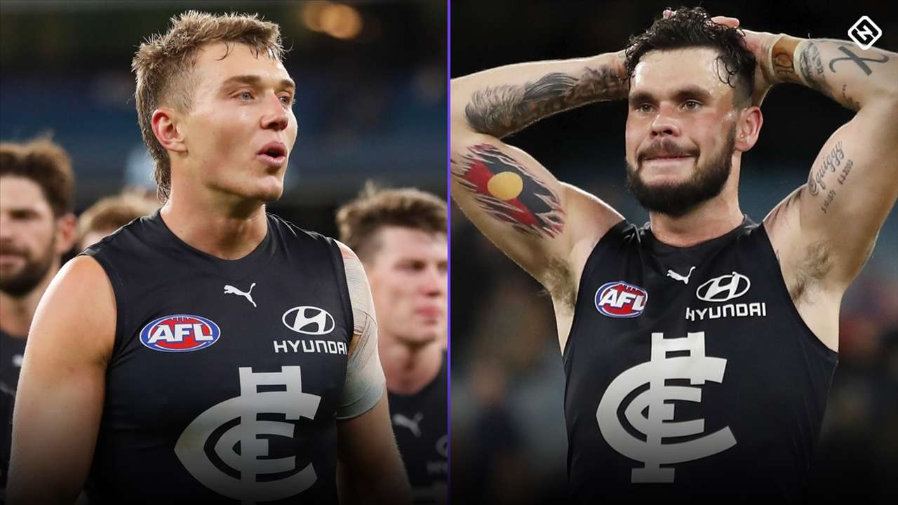 Patrick Cripps Zac Williams Carlton