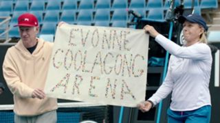Martina Navratilova John McEnroe