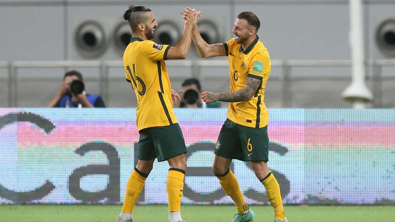 Aziz Behich/Martin Boyle Socceroos