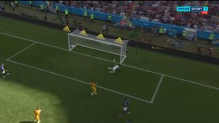 French goal