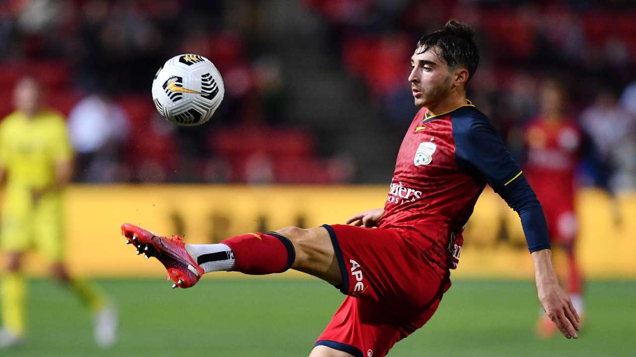 Josh Cavallo Adelaide United