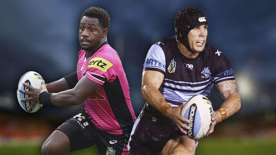NRL. Panthers v Sharks