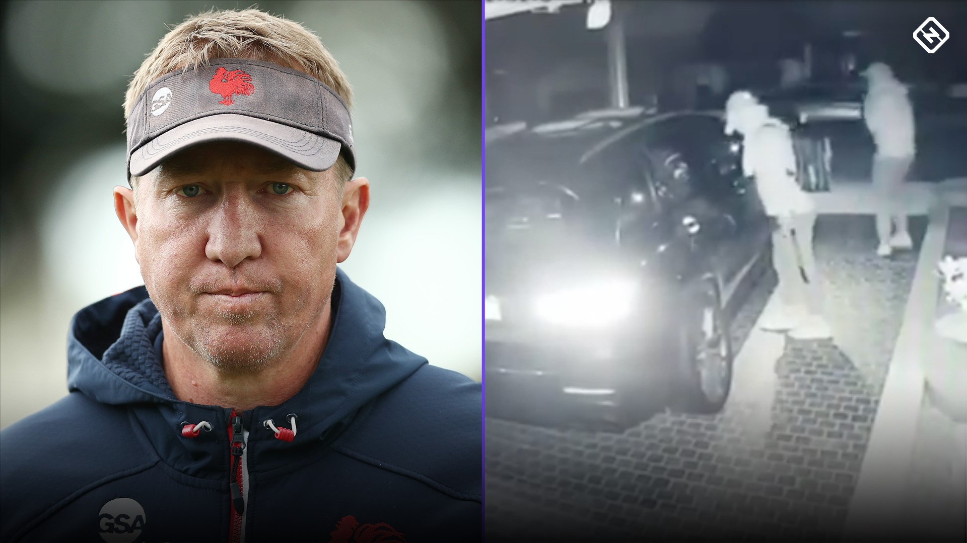 Sydney Roosters coach Trent Robinson's $150k Mercedes stolen in home invasion