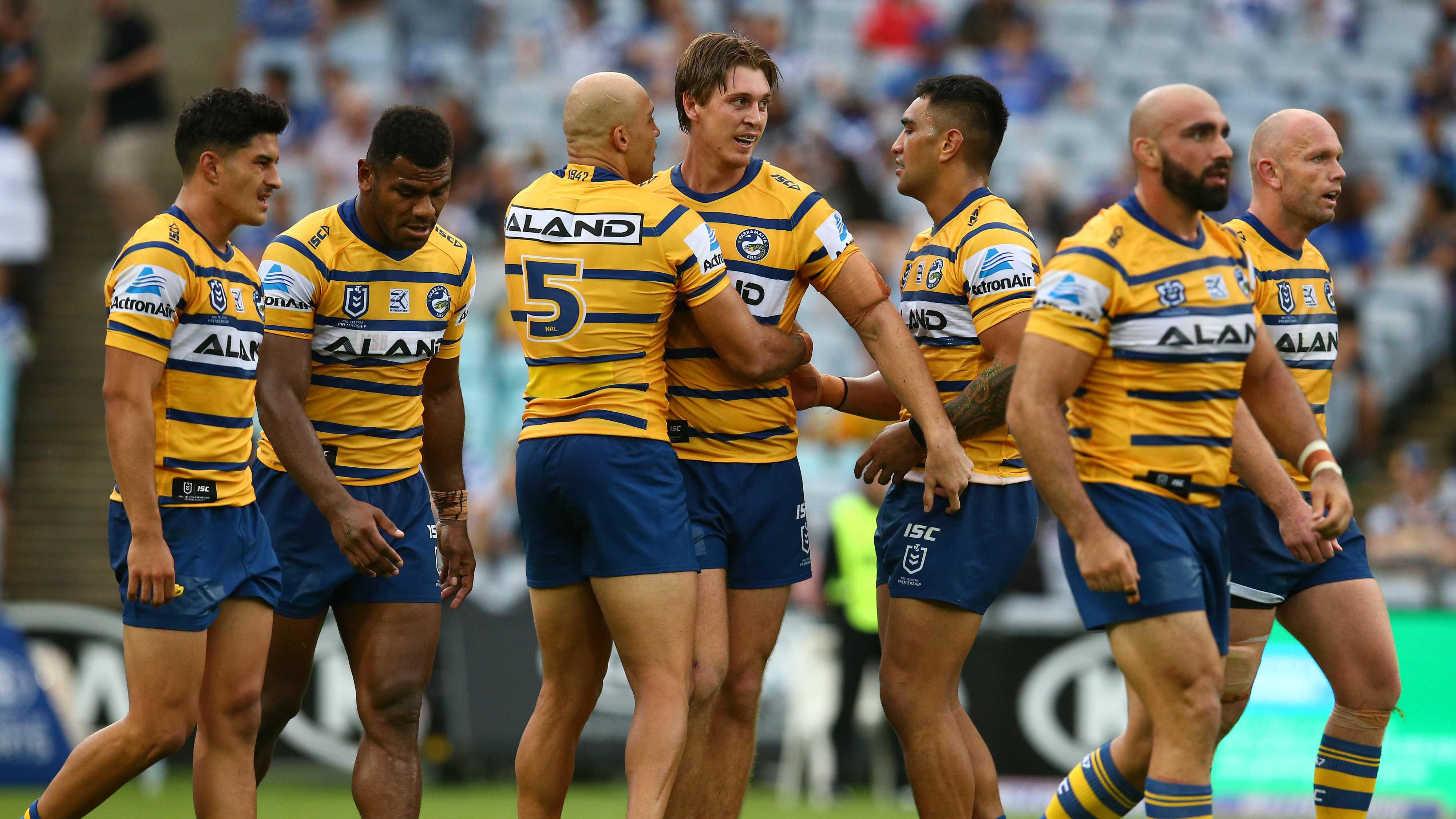Parramatta Eels Forward Shaun Lane Believes Personal Form And Club S Premiership Hopes Can Only Improve In 2020 Sporting News Australia