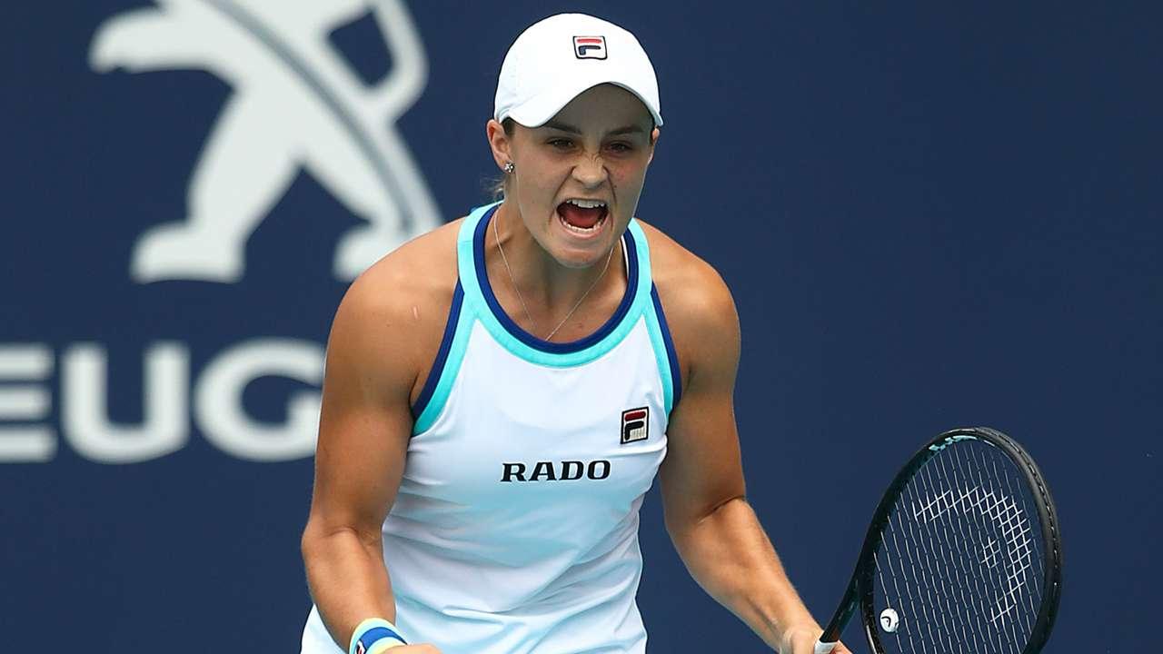 Ash Barty Miami Open