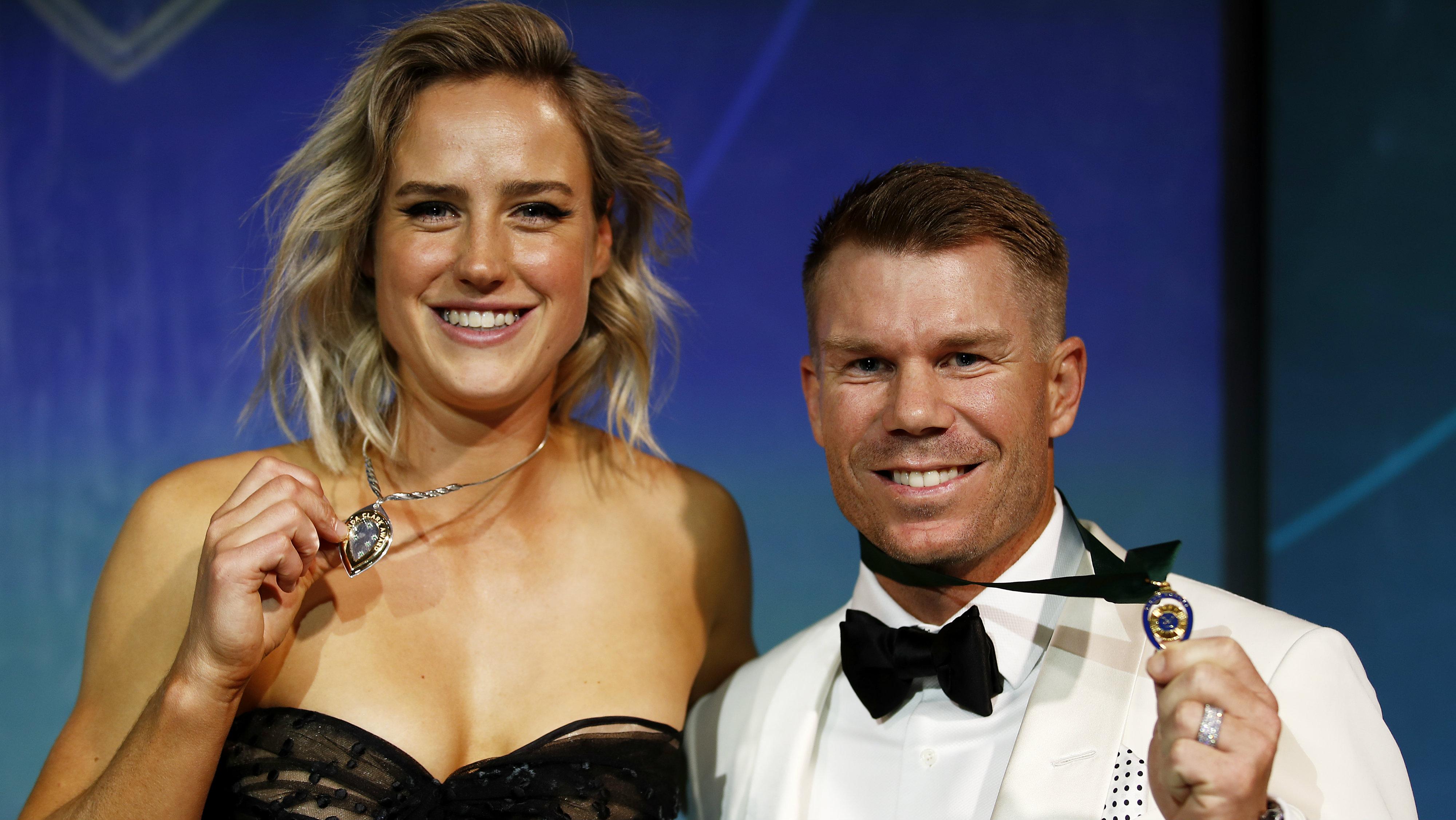 Australian Cricket Awards: David Warner and Ellyse Perry claim major honours