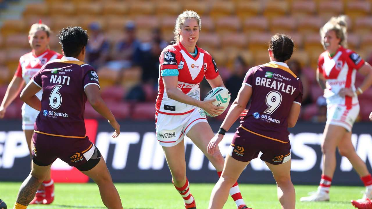 NRLW Dragons Broncos