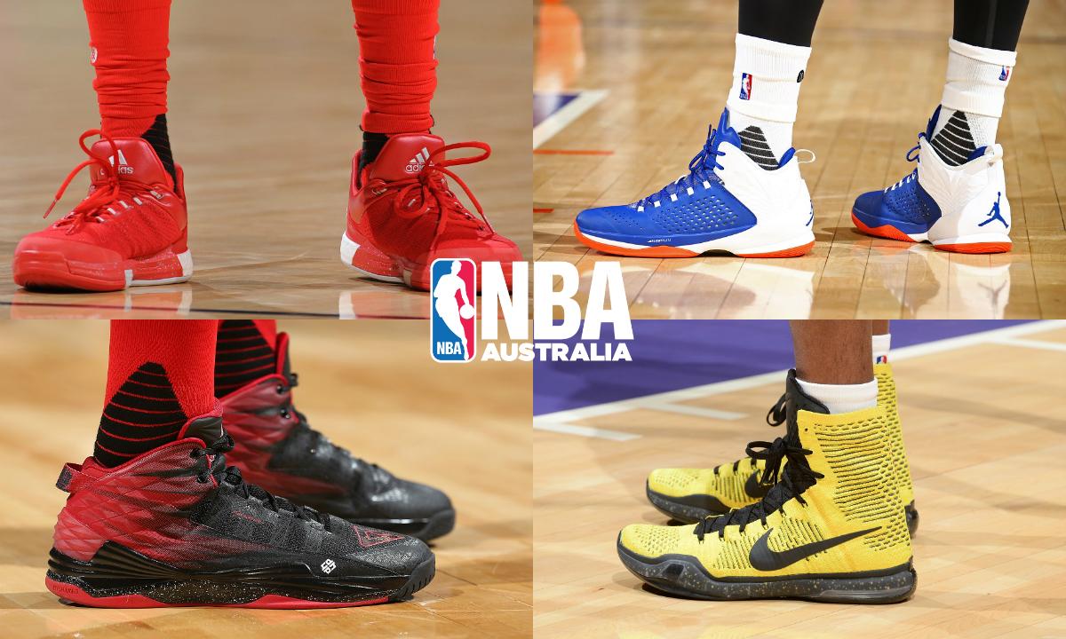 Fresh On-Court Kicks in the NBA