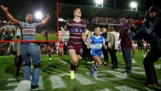 Daly Cherry-Evans Manly Sea Eagles and Michael Ennis