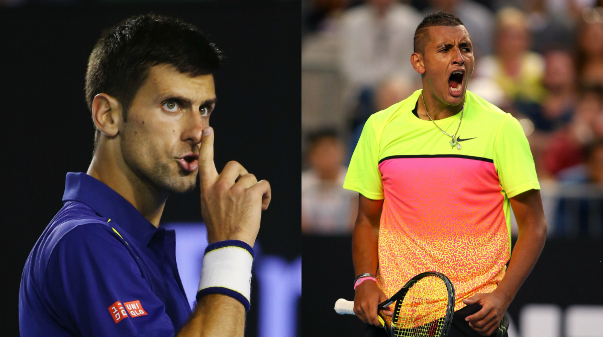 Nick Kyrgios Re Ignites Novak Djokovic Feud With Cheeky Instagram Message Before Deleting Comment Sporting News Australia