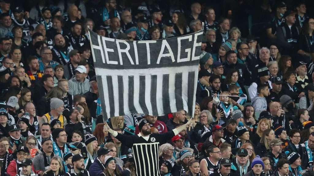Port Adelaide fans