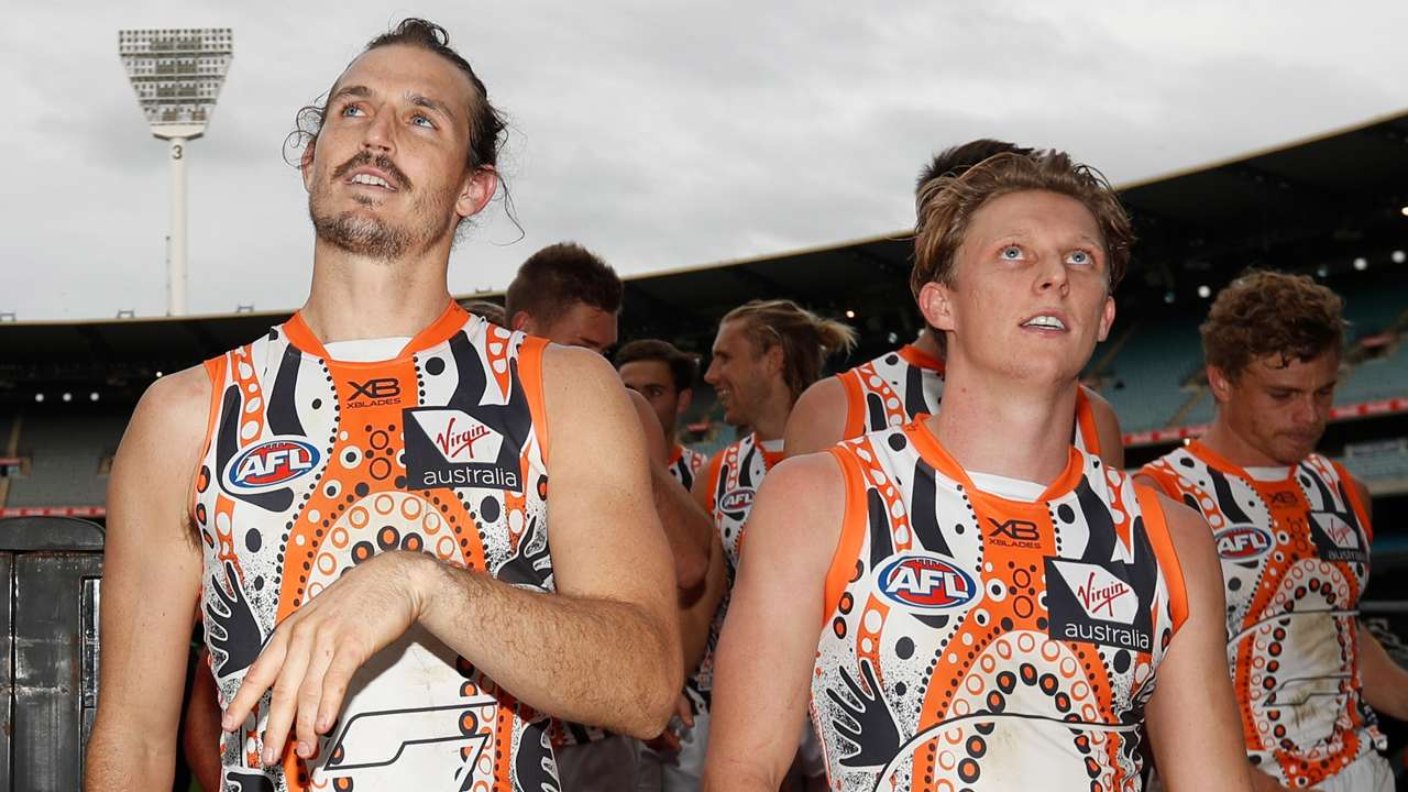 Phil Davis and Lachie Whitfield